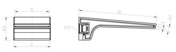 Cascada-Bath-Outlet-drawing