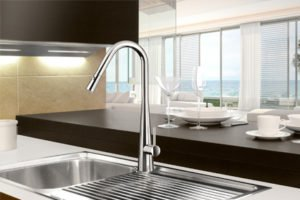 Aria pull down sink mixer