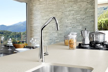 Elias pull down sink mixer