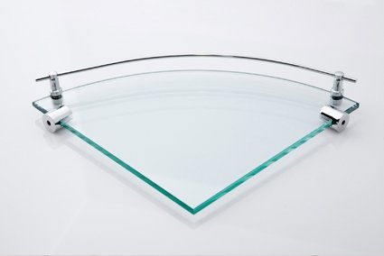 Rio Corner Glass Shelf