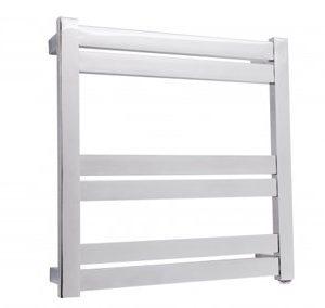 Siena 6 bar heated towel rail