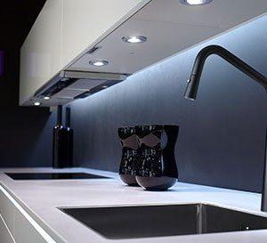 Elias pull down matt black sink mixer