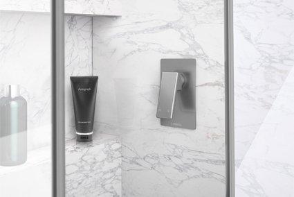 Madi Bath/Shower Mixer Grey Wolf