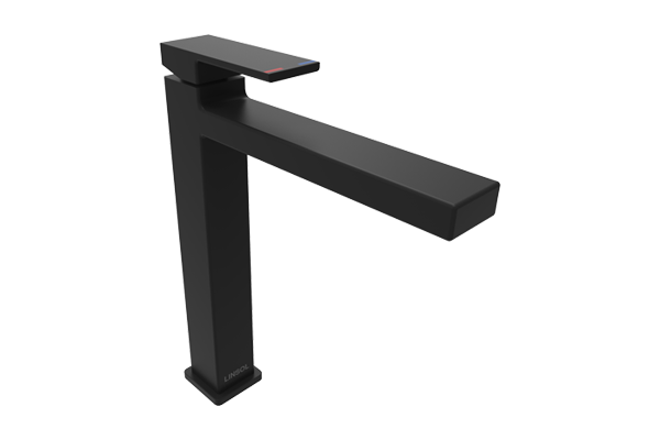Joseph Matte Black Tall Basin Mixer