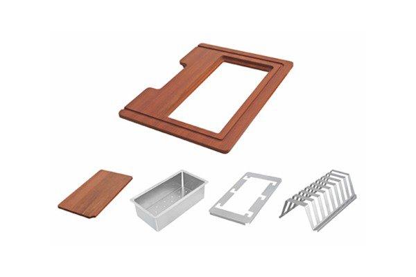 Quadrum Sink Accessories - 5 Pcs Set