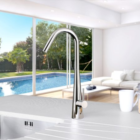 Linsol Aria Chrome Sink Mixer lifestyle square