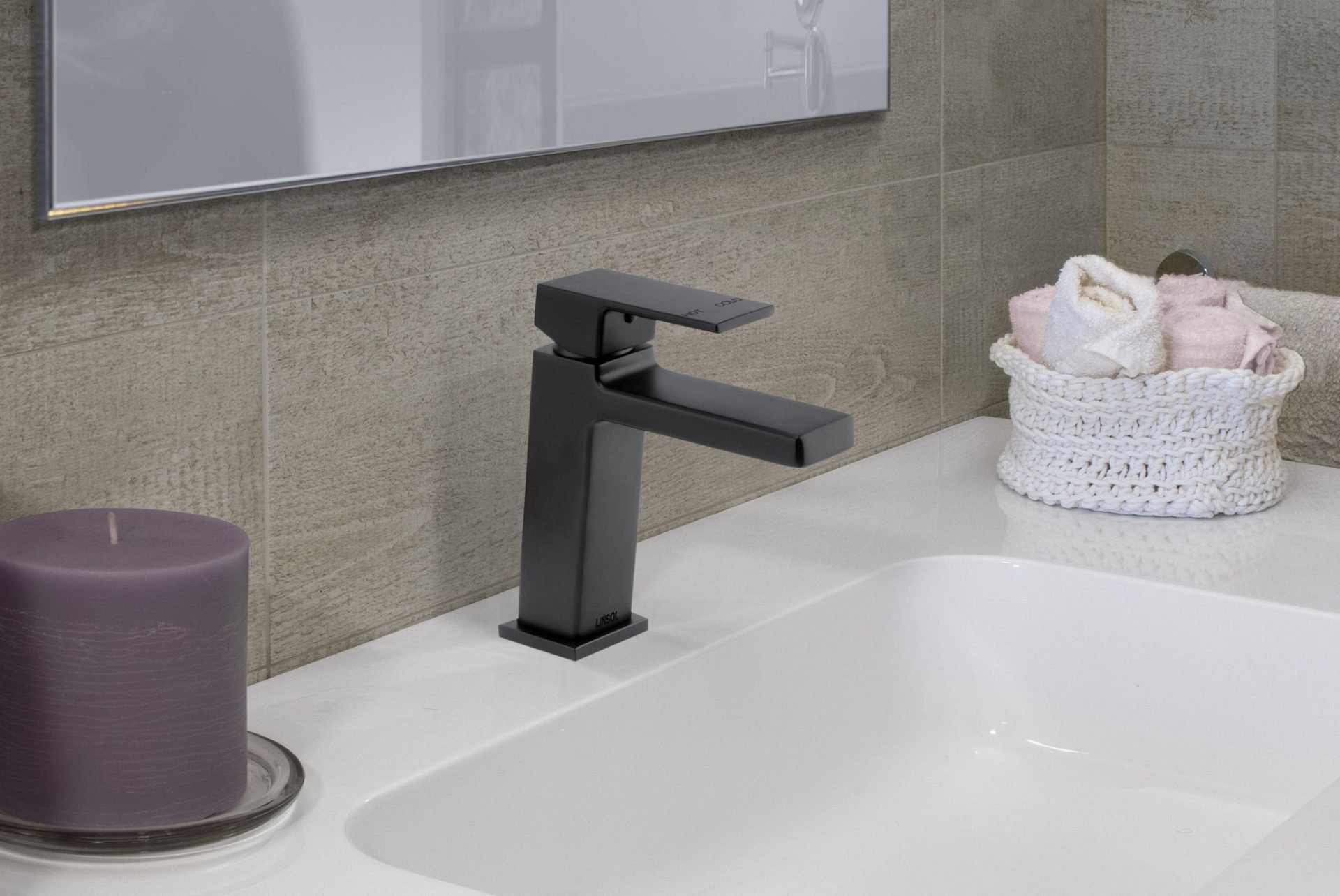 Joseph Matte Black Basin Mixer