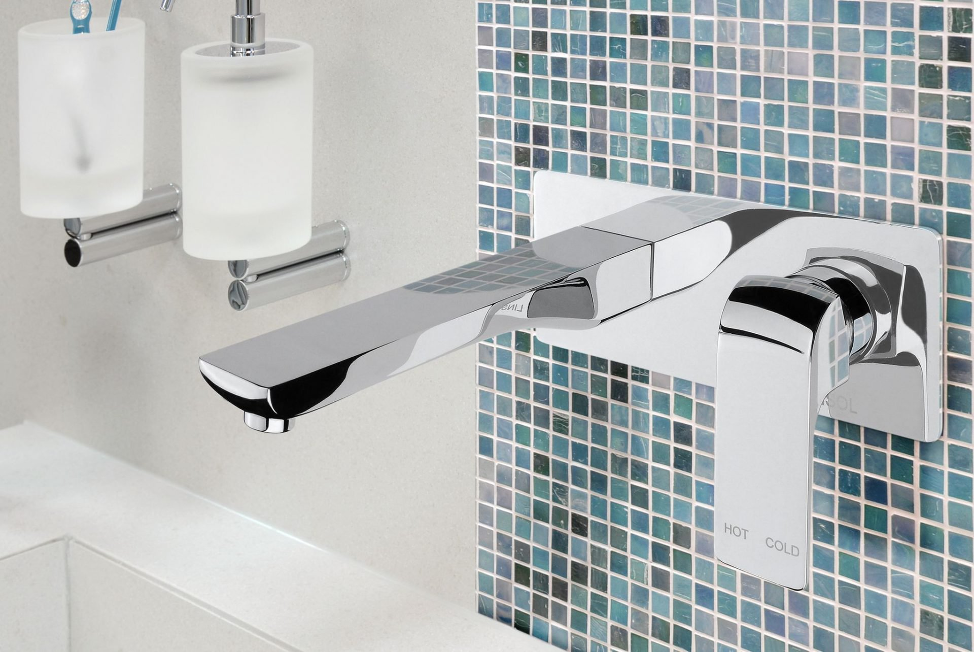 AVA Wall Bath/Basin Mixer
