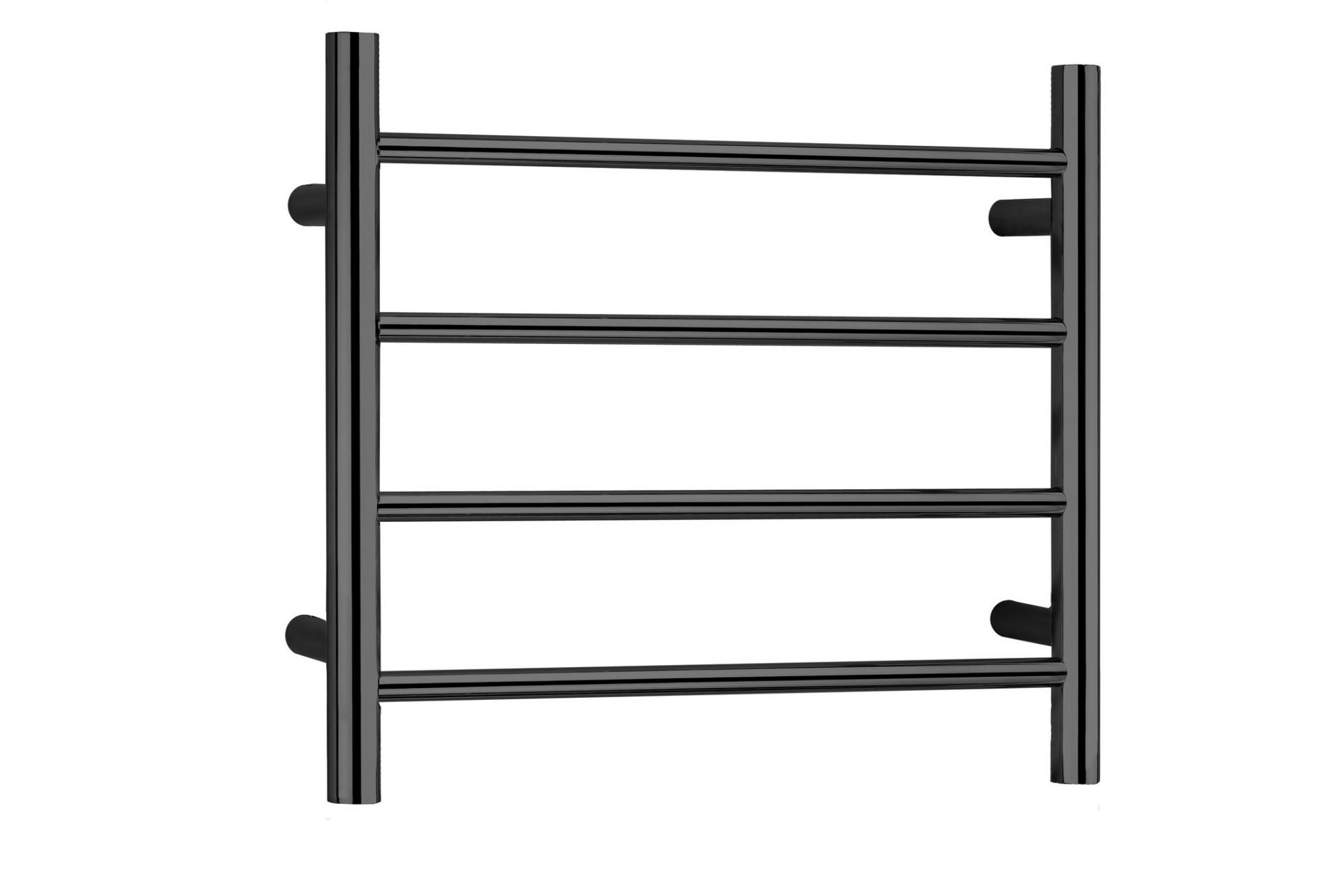 Allegra Heated Towel Rail 6 Bar Linsol Warmer Wiring Diagram Matte Black 4