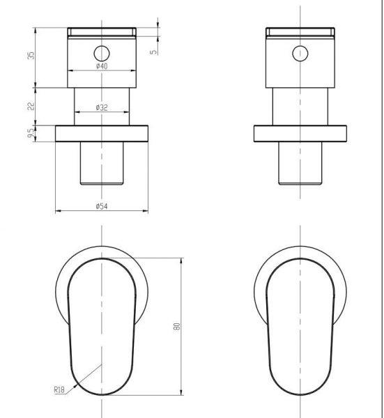 Avanti-wall-top-assembly-drawing