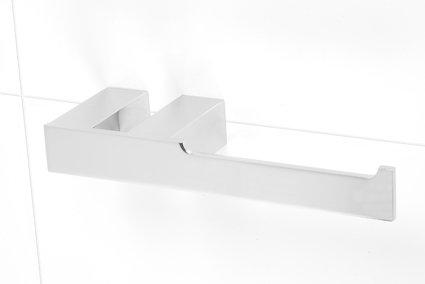 Alpha toilet paper holder