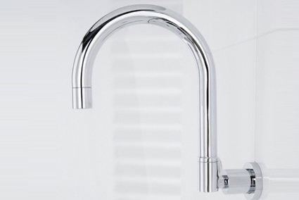 Dom wall spa spout 240mm