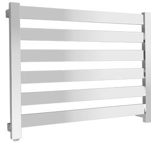Fury 6 bar heated towel rail