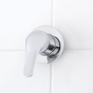 banjo bath shower solid handle mixer