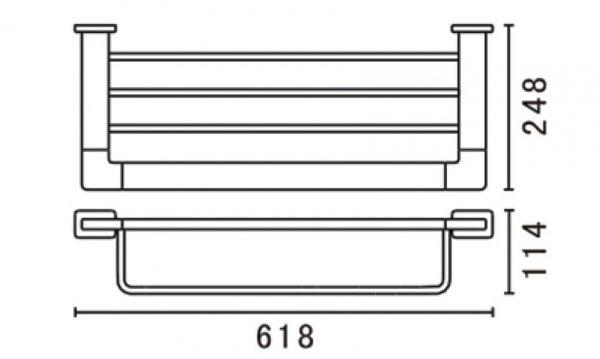 Tiana-towel-bar-shelf-562mm-big-drawing