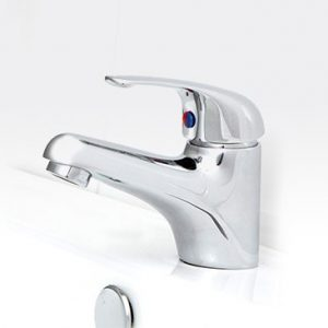 Banjo basin Mixer Solid Handle