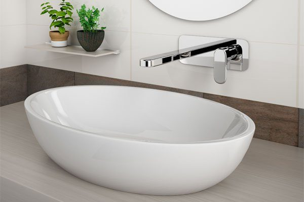 Valentino Wall Basin Mixer