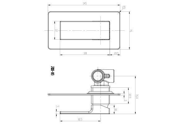 Joseph Bath Shower Mixer Drawing