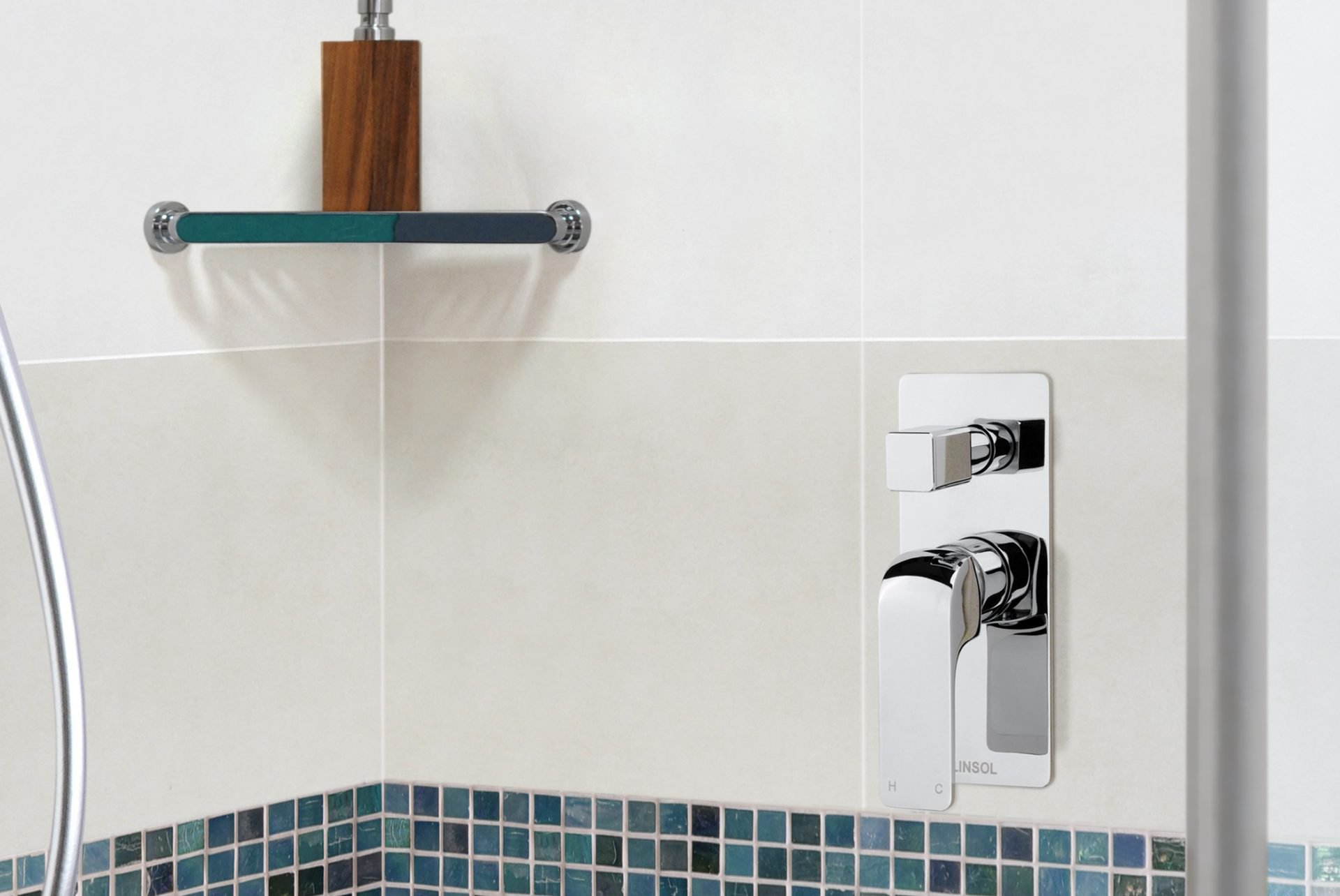 Ava Bath/Shower Mixer with Divertor