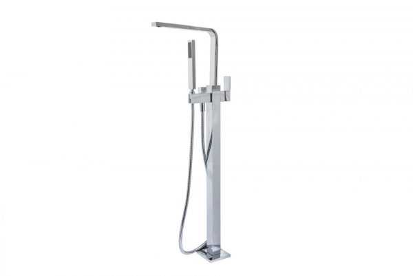 Linsol Alessia Freestanding Bath Filler ALES-01 White Background Image 2 547 x 366