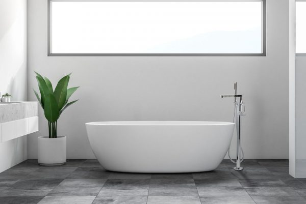 Linsol Emily Freestanding Bath Filler EMI-01 Lifestlye Image 547 x 366