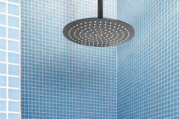 Linsol Force Matte Black Shower Outlet FOR-MB-035 Lifestyle Image 547 x 366