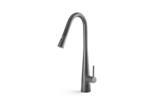 Linsol Aria Grey Wolf Pull Out Sink Mixer ARI-GW-01RE 547x366 White
