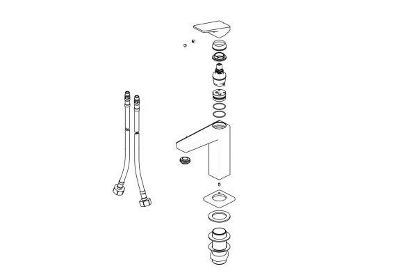 Linsol Madi Basin Mixer 547x366 MAD-01 split