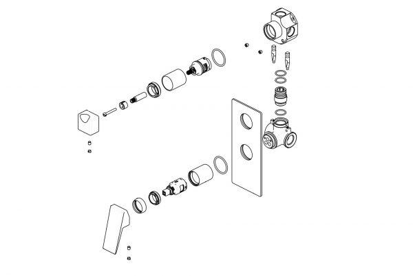 Linsol Madi Wall Mixer w Divertor 547x366 MAD-04 split