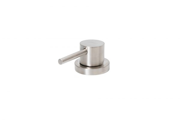 Linsol Domena Brushed Stainless Telescopic-Pull Out Mixer DOMENA-01-BR White Background 4 547x366