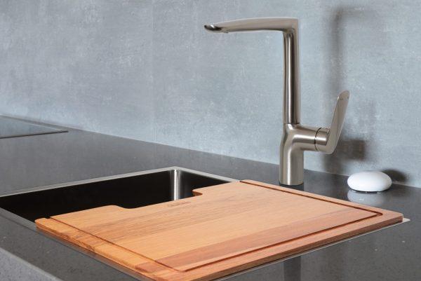 Linsol Hudson Brushed Nickel Sink Mixer HUD-BN-02 Lifestyle 547x366