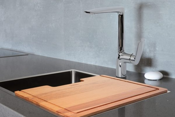 Linsol Hudson Chrome Sink Mixer HUD-02 Lifestyle 547x366