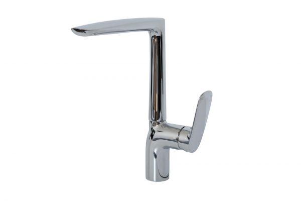 Linsol Hudson Chrome Sink Mixer HUD-02 White background 547x366