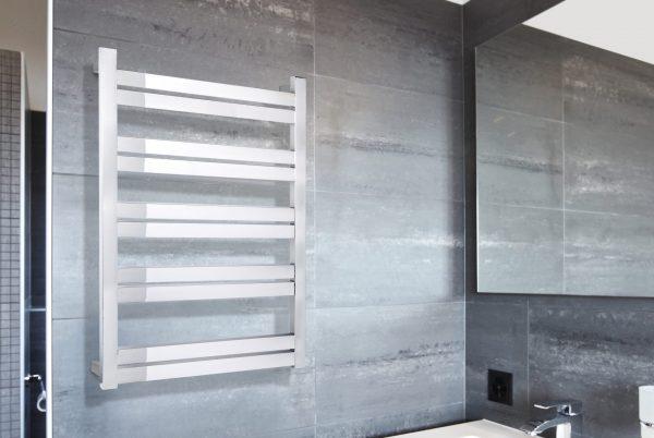 Linsol Siena10 Bar Heated Towel Rail JY-SQ-10 Lifestyle Image 547x366