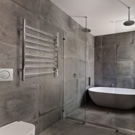 Linsol Allegra 8 Bar Heated Towel Rail JY-3312 Lifestlye Image square