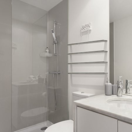 Linsol Allegra Single Bar Heated Towel Rail JY-RO-650 JY-RO-450 JY-RO-850 Lifestylr Image square
